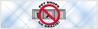 Pet shop - No grazie!