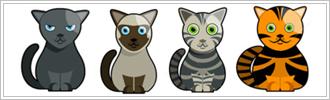 Risorse grafiche gattose